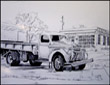 Truck, drawing by Jack Knight